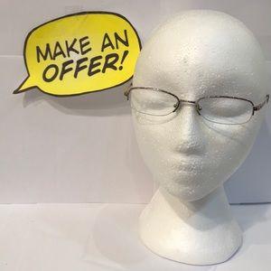 DKNY Oval Eyeglasses RX. 5541B 1015 50-17 135
